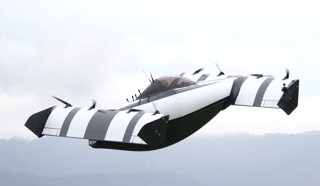 BlackFly – the newest flying car!