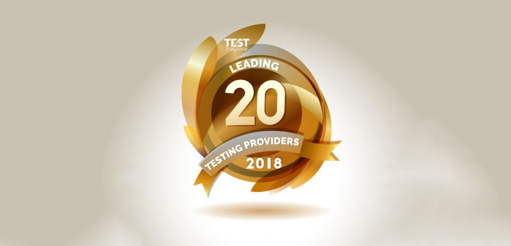 Want to be a part of TEST Magazine's top 20 leading providers?