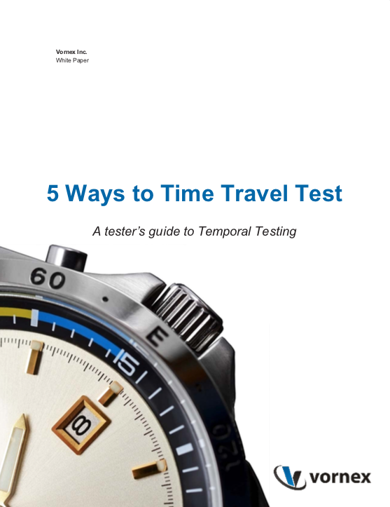 5 Ways to Time Travel Test