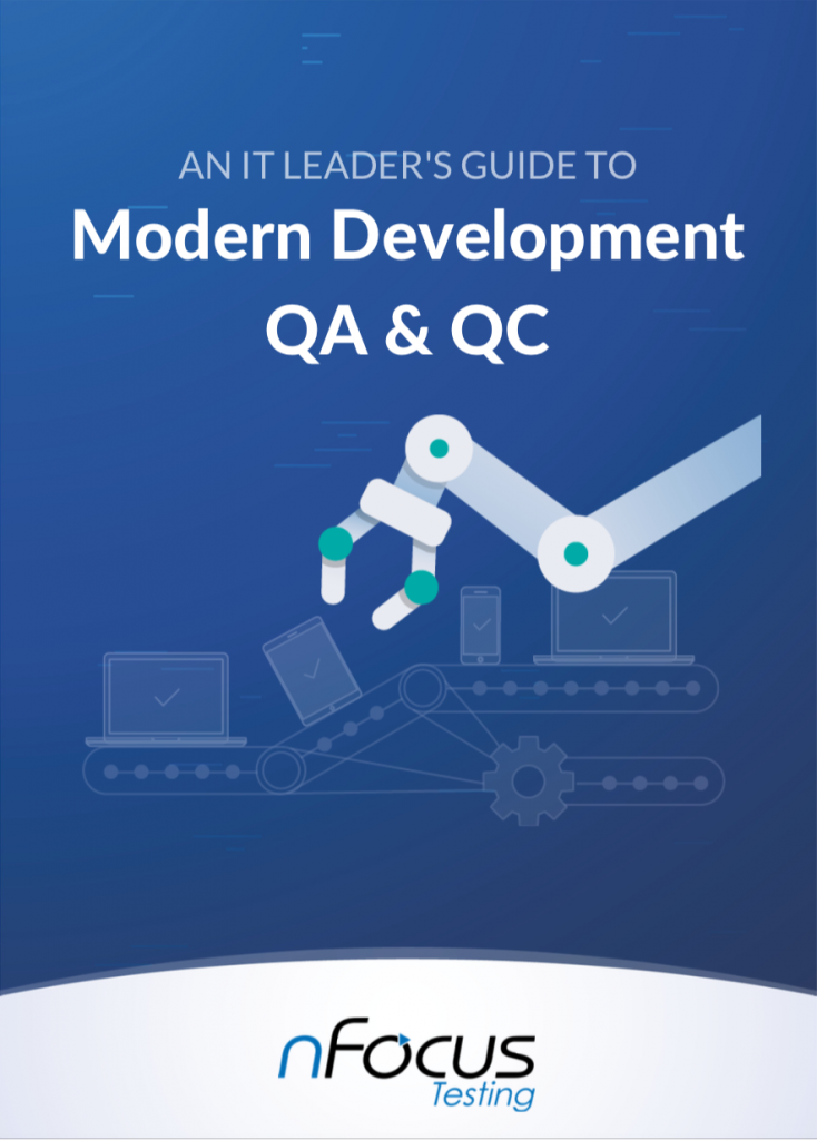 An IT Leader's Guide To Modern Development QA & QC