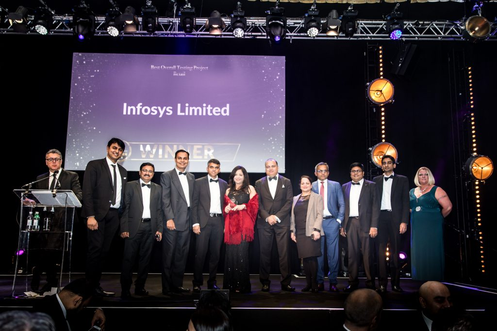 Best Overall Testing Project – Retail Infosys