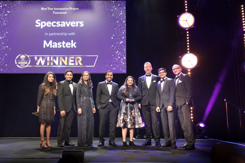 Best Test Automation Project – Functional Specsavers & Mastek