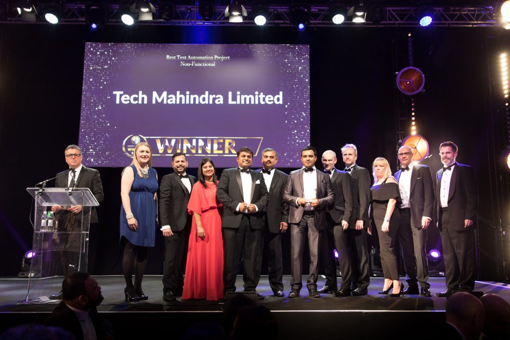 Best Test Automation Project – Non-Functional Tech Mahindra