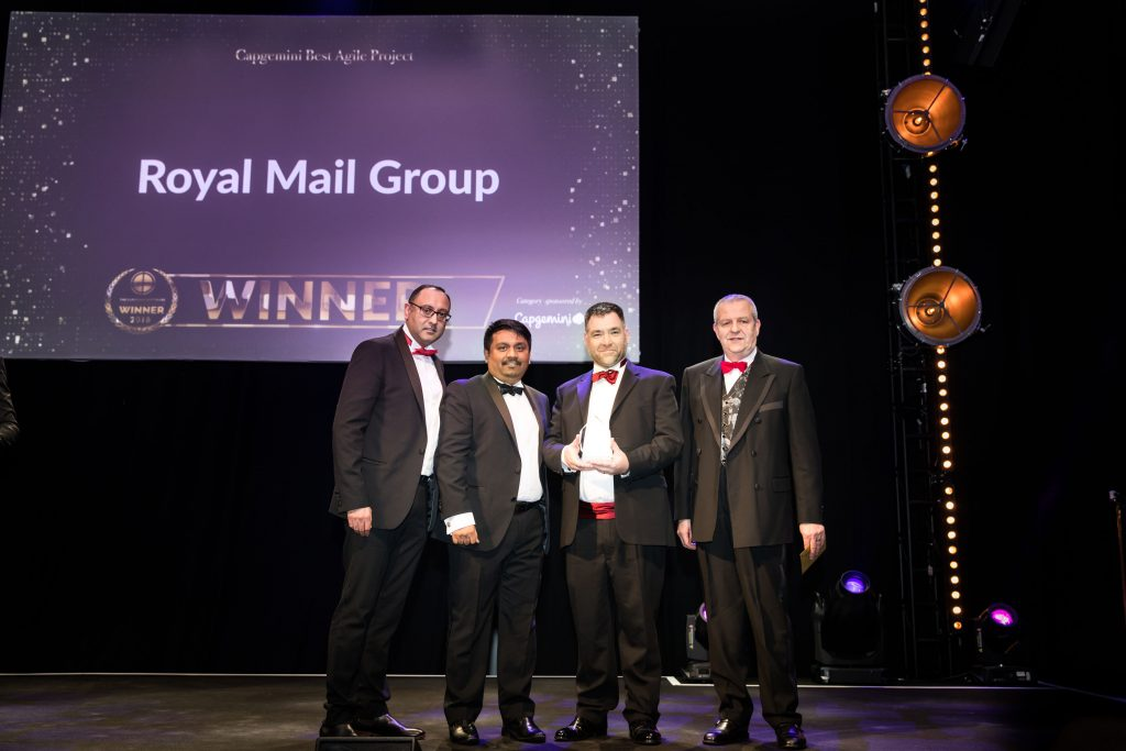 Capgemini best agile - Royal Mail Group