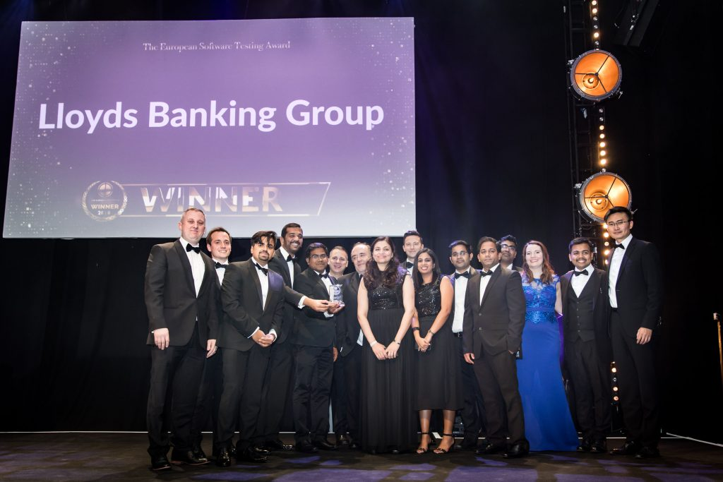 The European Software Testing Award winner Lloyds Banking Group