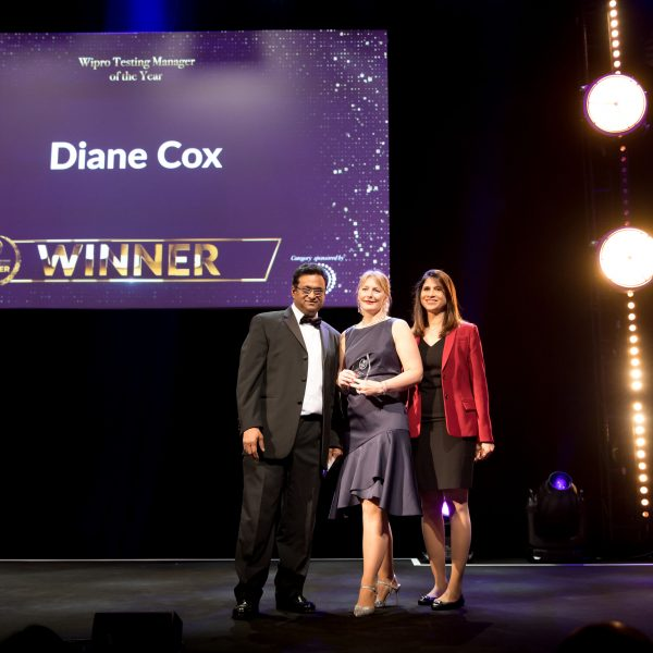 Wipro Testing Manager of the Year Diane Cox